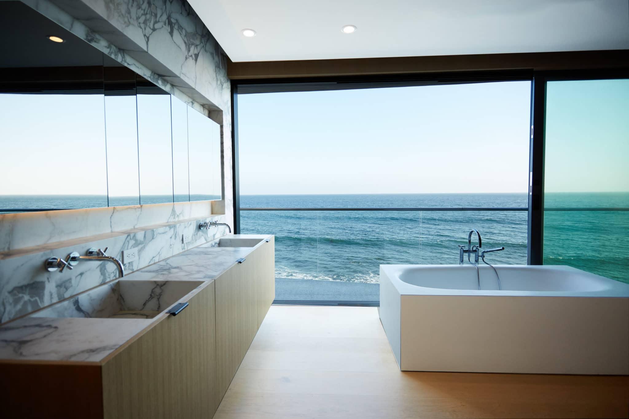 fascinating bathroom ocean view | Residential Construction » StarCon General Contractors